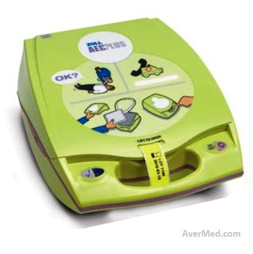 Aed Automated External Defibrillator Zoll Aed Plus Avermed
