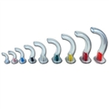 color coded pvc guedel airway set