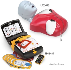 Basic Buddy CPR Manikin Lifepak CR Plus AED Training