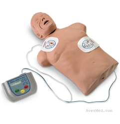 LifeForm AED Trainer with Brad CPR Manikin
