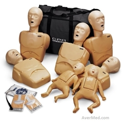 TPAK 700 CPR Prompt 7-PackTraining Manikin Tan