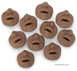 CPR Training Manikin Mouth Nose pieces