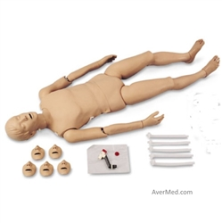 Full-Body CPR Manikin with Trauma Options