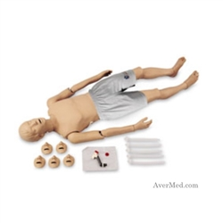 Full-Body Trauma CPR Manikin with Electronics