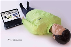 "RoDamâ""¢-E CPR Evaluation Simulator Manikin"